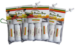 Three Pack Washable Produce Bags