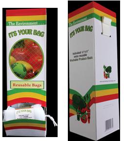 Washable Produce Bag Dispenser