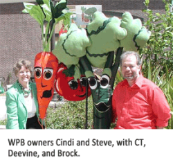Washable Produce Bags Owners Cindi and Steve