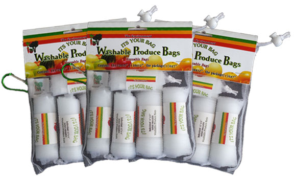 "Three ""Its Your Bag"" Washable Produce Bags Sets"